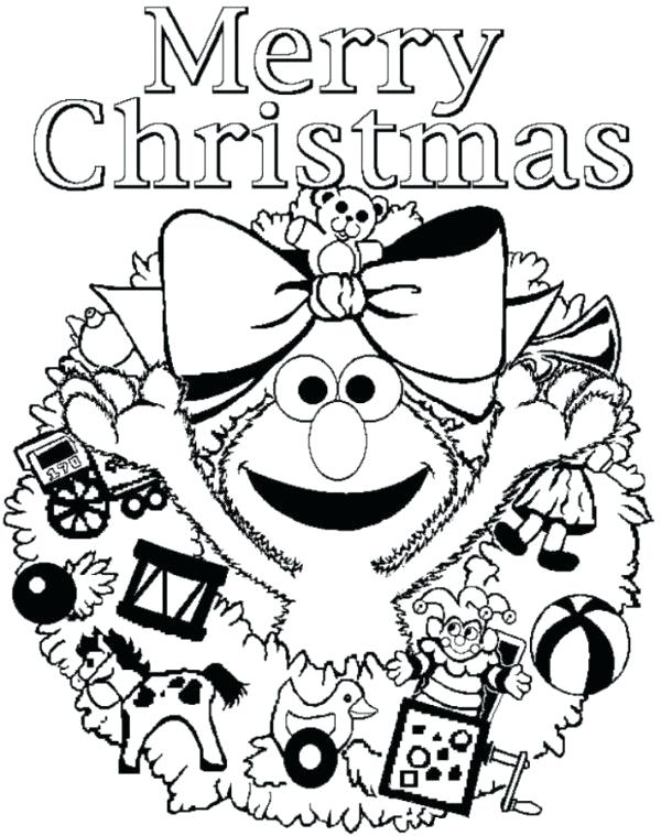 600x759 Christmas Scene Coloring Pages A Decorated Tree Nativity Scene