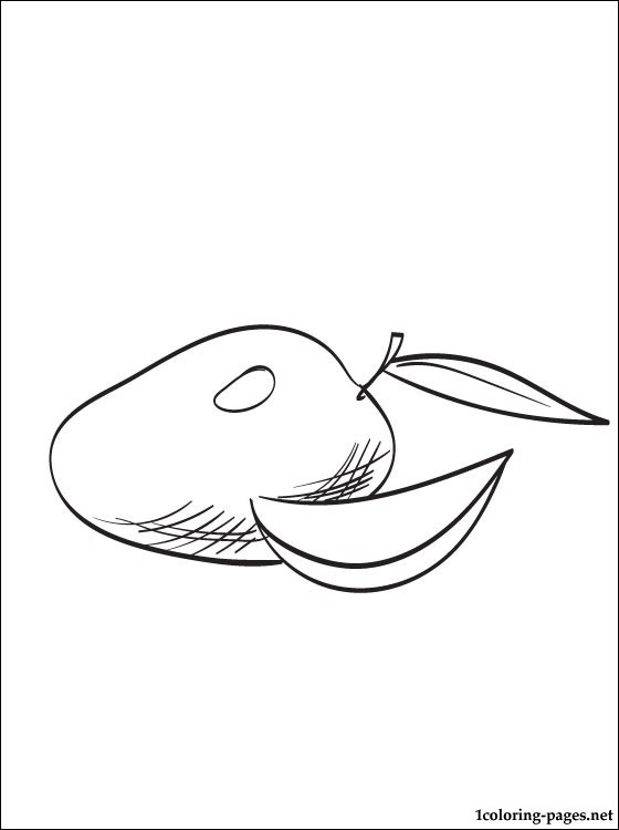 560x750 Mango Printable And Coloring Page Pages