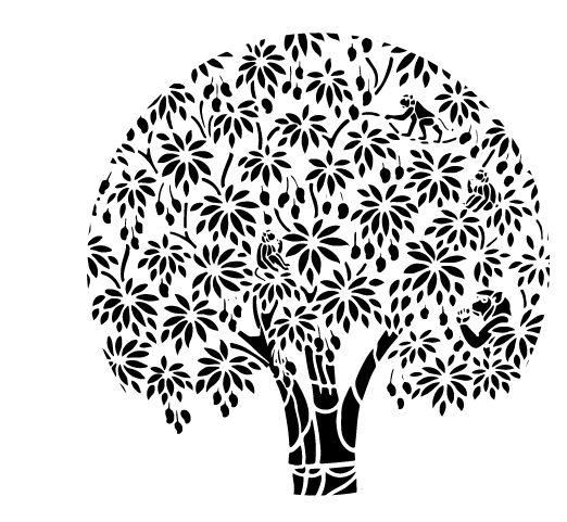522x481 Drawn Tree Mango Tree