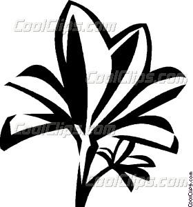 280x300 Mangrove Vector Clip Art