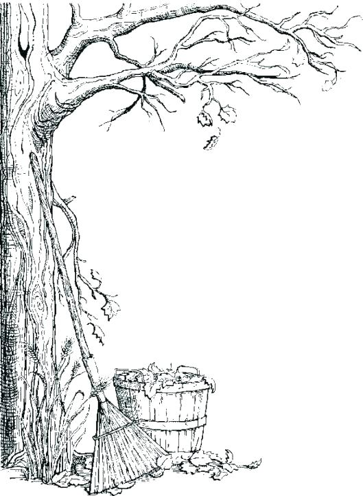 529x722 Coloring Pages Tree Coloring Pages Trees Coloring Pages The Try
