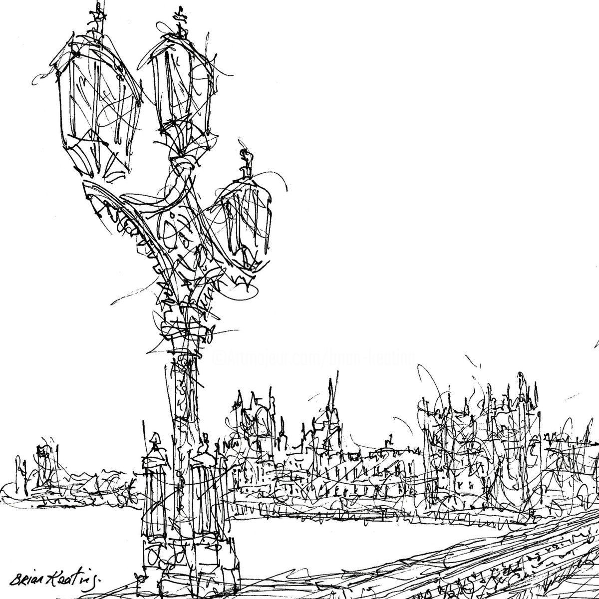 1200x1200 Lamps Westminster Bridge (Brian Keating Ancad)