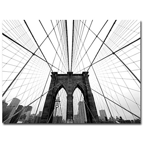 463x463 Nyc, Brooklyn Bridge By Nina Papiorek, 24x32 Inch