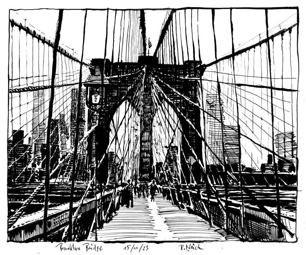 978x816 Brooklyn Bridge By Roodyn