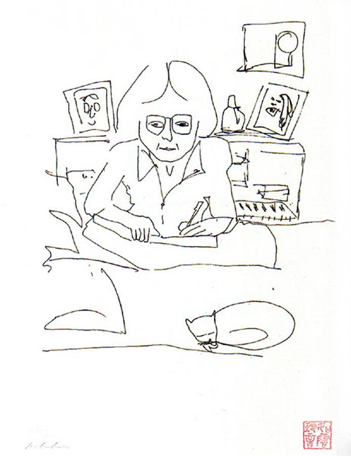 693x900 Manhattan Diary By John Lennon Art By Celebrities