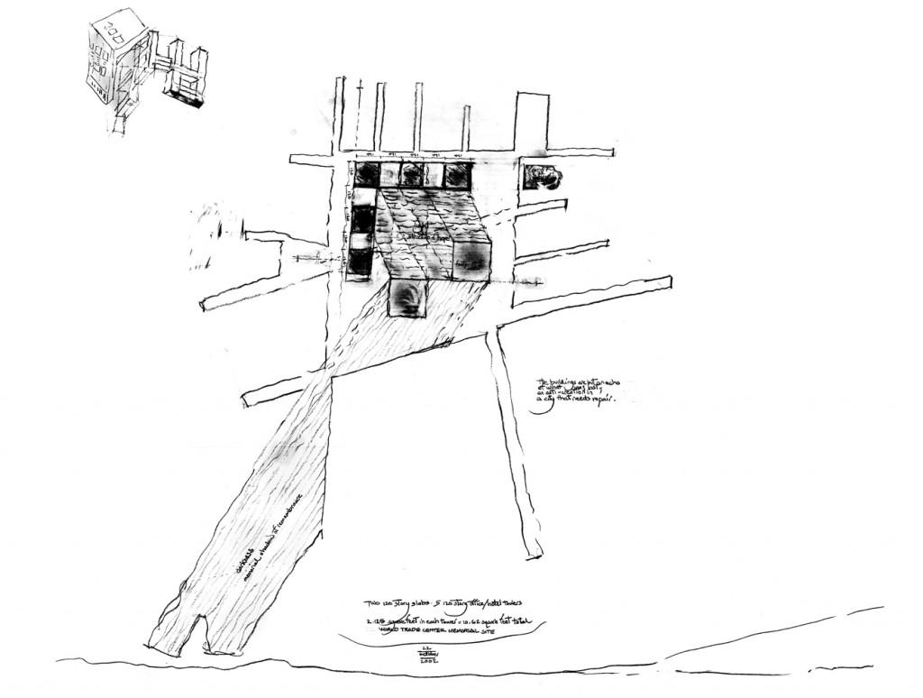 1024x774 World Trade Center Memorial Square Competition Richard Meier