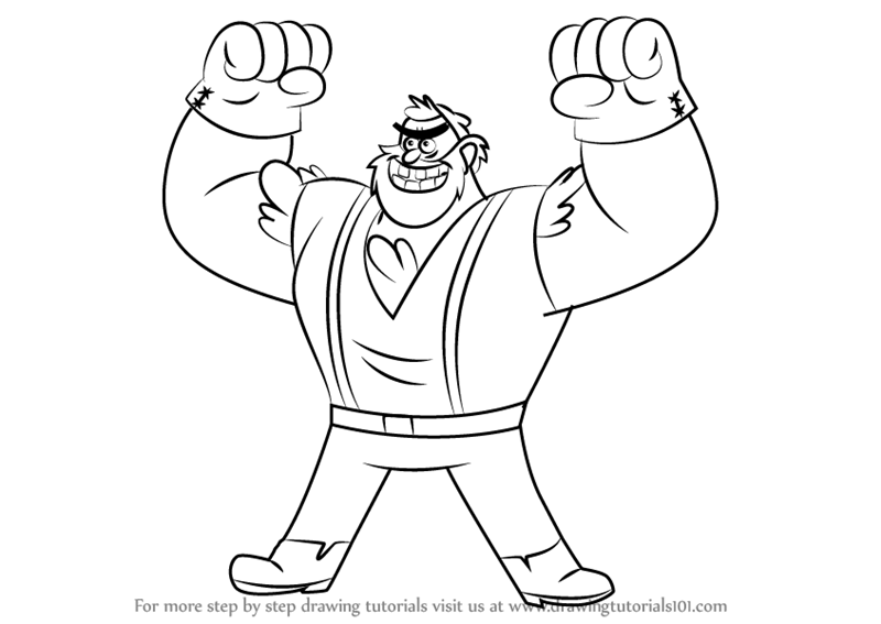 800x567 Learn How To Draw Manly Dan From Gravity Falls (Gravity Falls