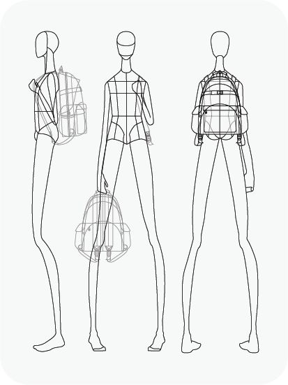 Mannequin Drawing For Fashion