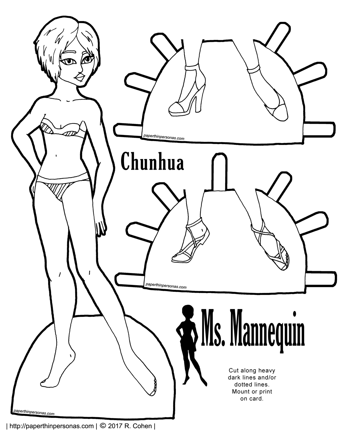 1095x1386 Ms Mannequin Archives Paper Thin Personas