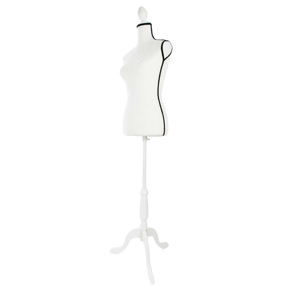 1000x1000 Female Mannequin Torso Dress Form Display Tripod Stand Designer