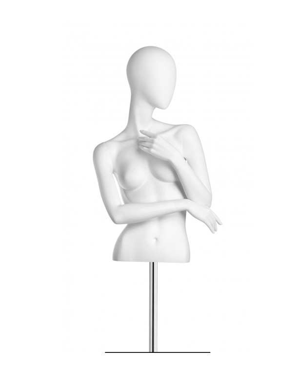 615x800 Abstract White Mannequin Female Torsos