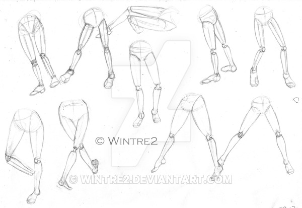 600x413 Mannequin Legs And Feet Exercises Part 01 By Wintre2