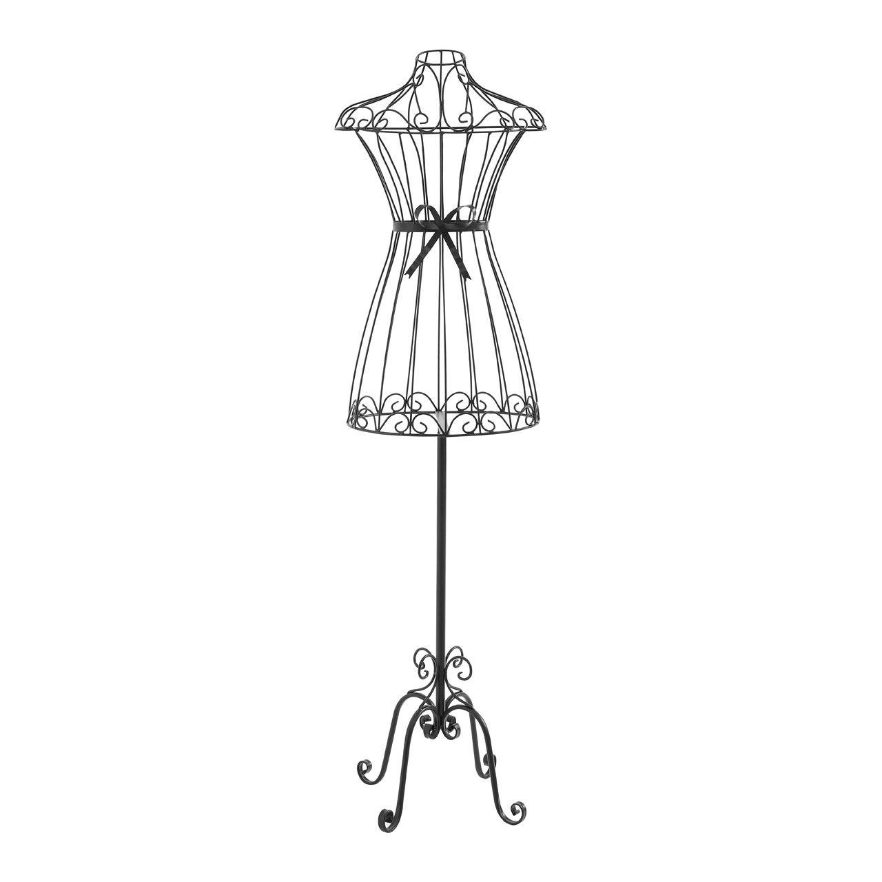 1280x1280 White Amp Black Female Mannequin Model Metal Torso Dress Maker