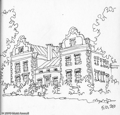 500x480 Draw A Manor Draw A Medieval Manor