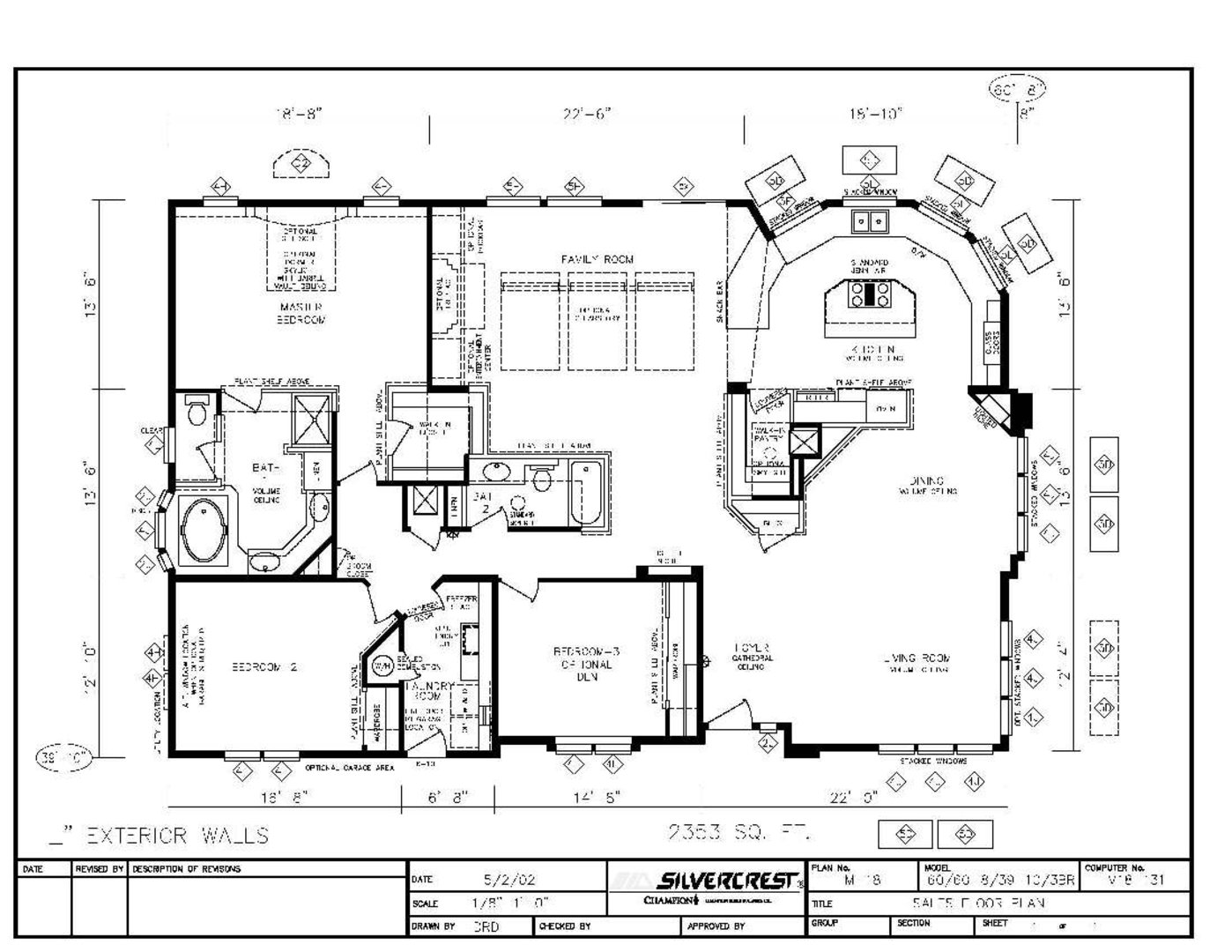 1398x1080 Factory Built Home Floor Plans Of Silvercrest Manor Series Homes