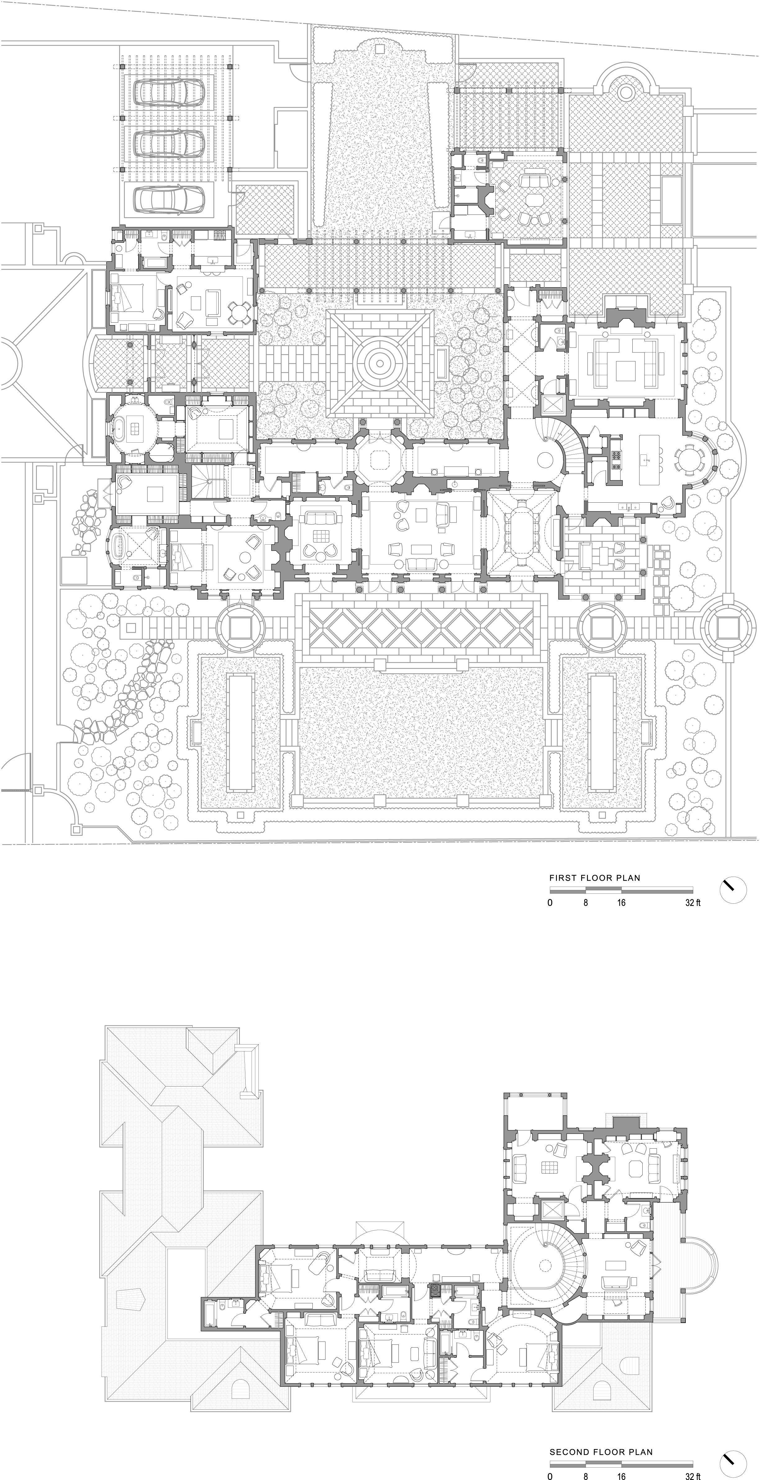 2447x4761 John Gilmer First Amp Second Floor Me Architecture