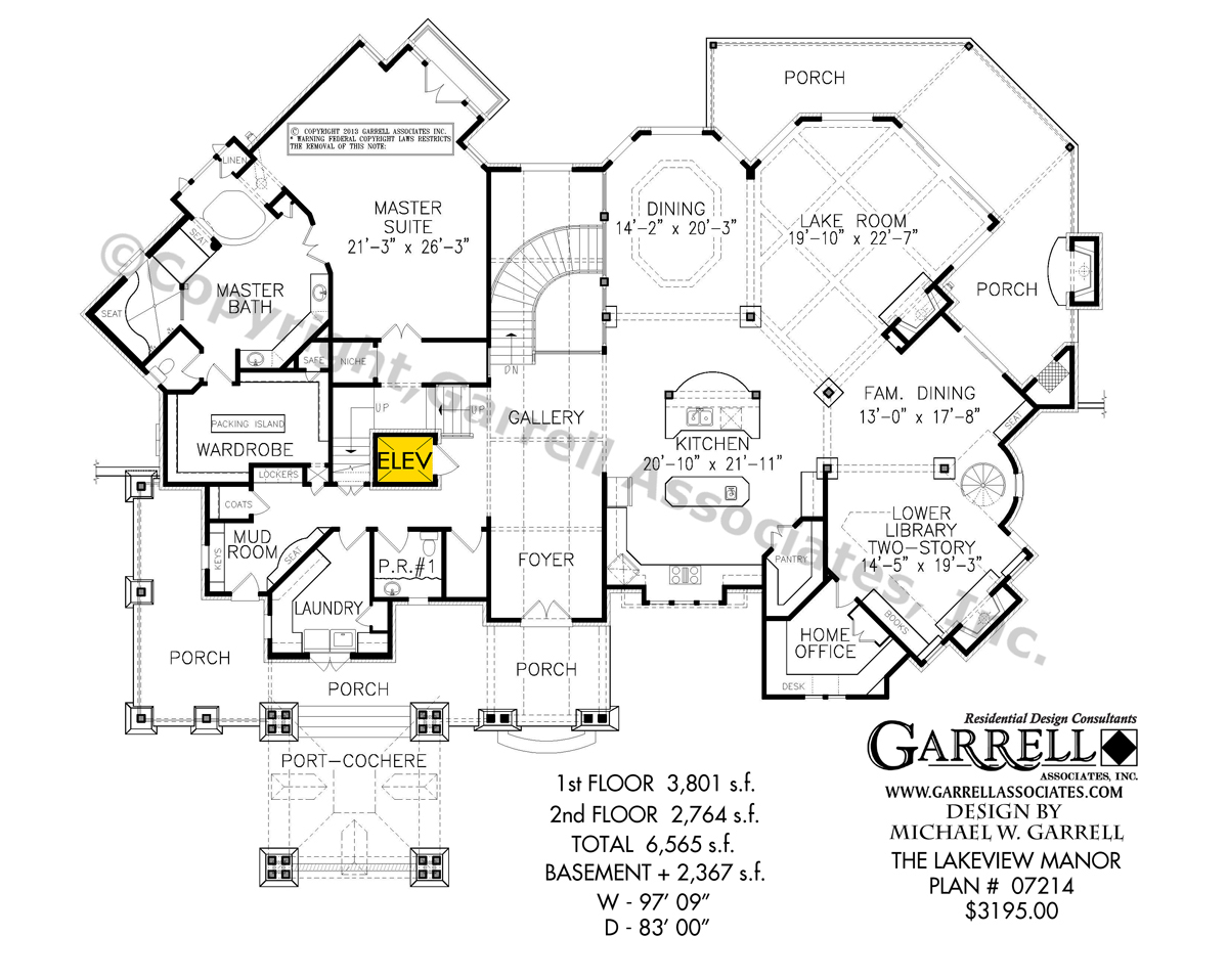 1200x958 Lakeview Manor House Plan Country Farmhouse Southern