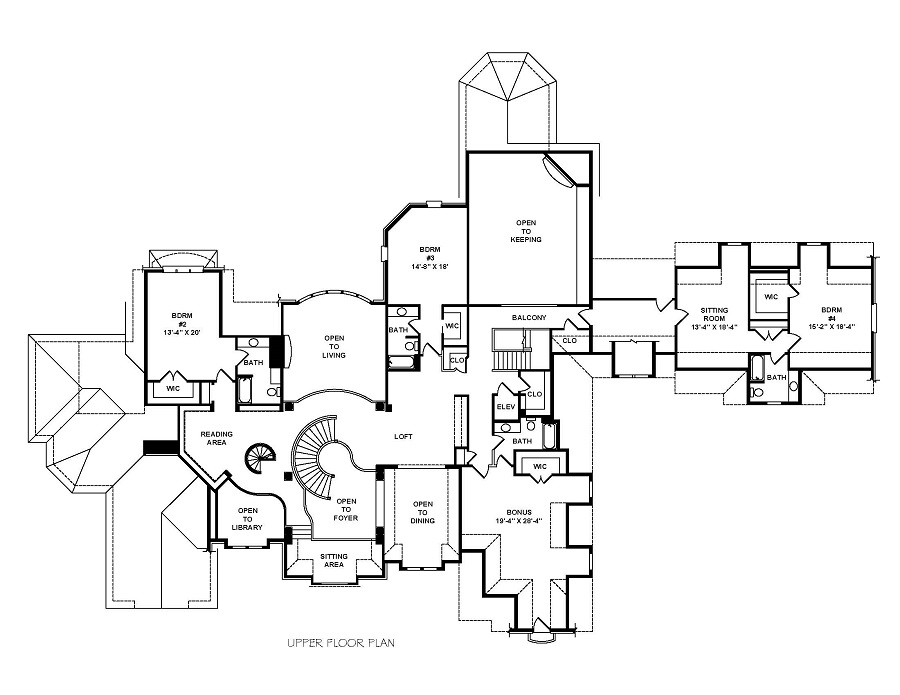 900x695 Stone Crest Manor Stephen Davis Home Design