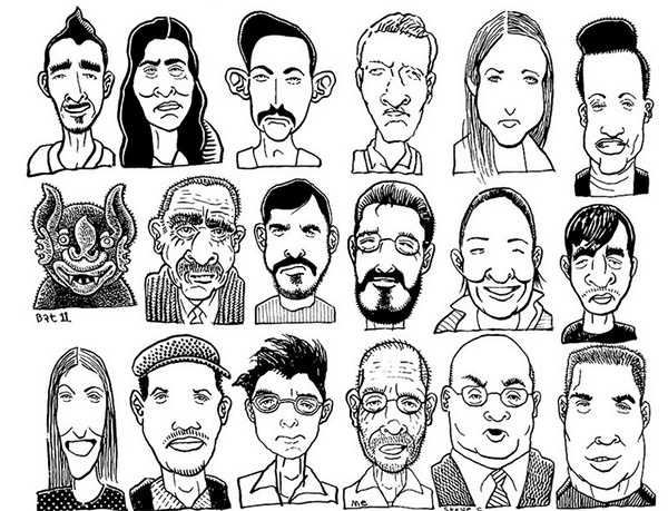 600x459 Cartoon Sketches, Cartoon Face Sketches Free Amp Premium Templates