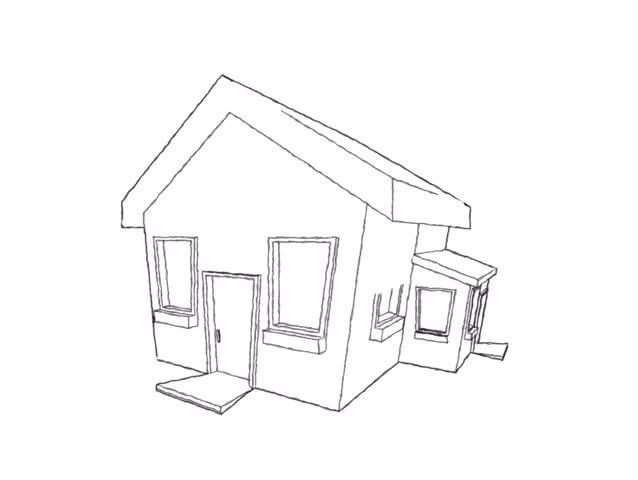 Mansion Drawing