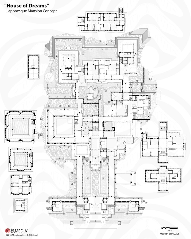 Cool X House Of Dreams With Mansion Layout