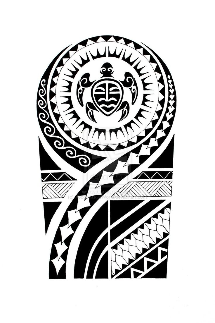 736x1104 Latest Maori Tattoo Designs