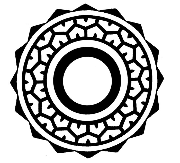 700x632 Collection Of Maori Circle Tattoo Drawing