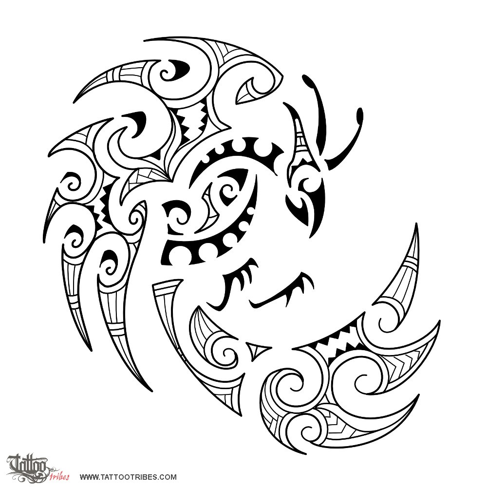 1000x1000 Tattoo Of Maori Style Fenghuang, Virtue, Grace Tattoo
