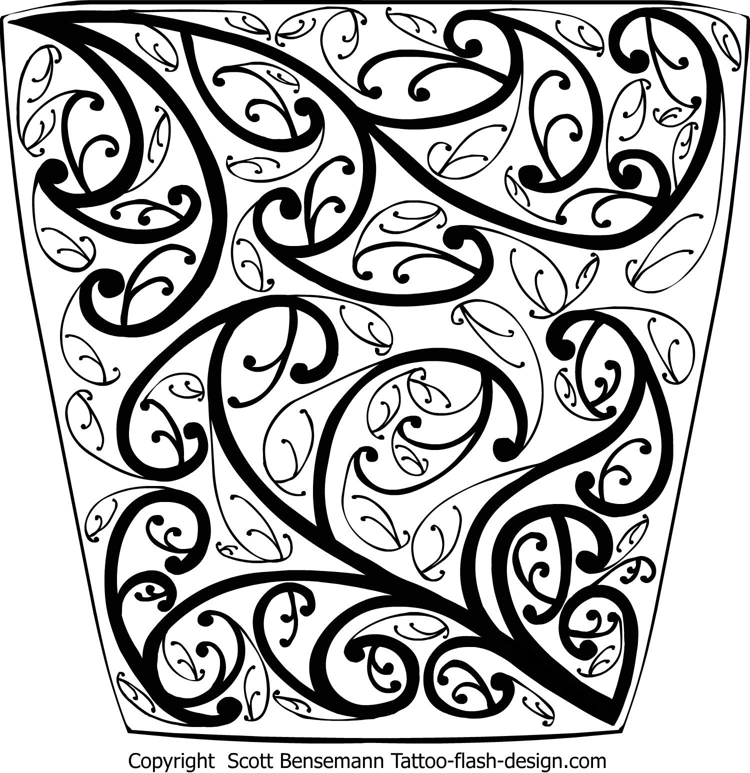 1500x1546 Maori Koru Intense Detail Pattern Drawing Koru Amp Doodle Designs