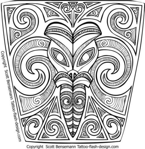 500x511 Maori Tribal Sleeve Design Drawn By Me Get The Full Maori Sleeve
