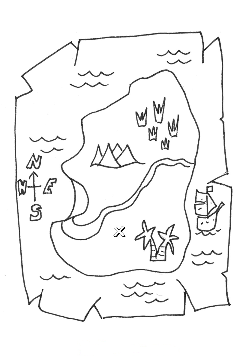 937x1400 My Nephew Loves Coloring Pages Dealing With Pirates, Maps,