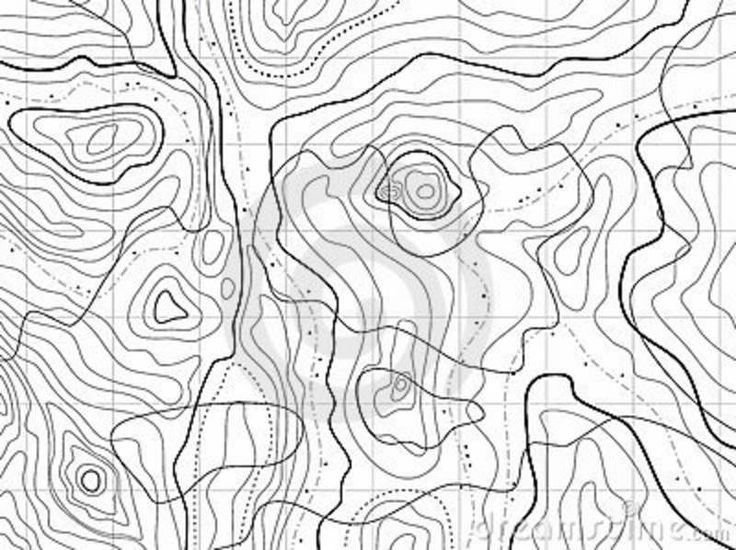 736x550 The Best Topographic Map Ideas On Topography Map