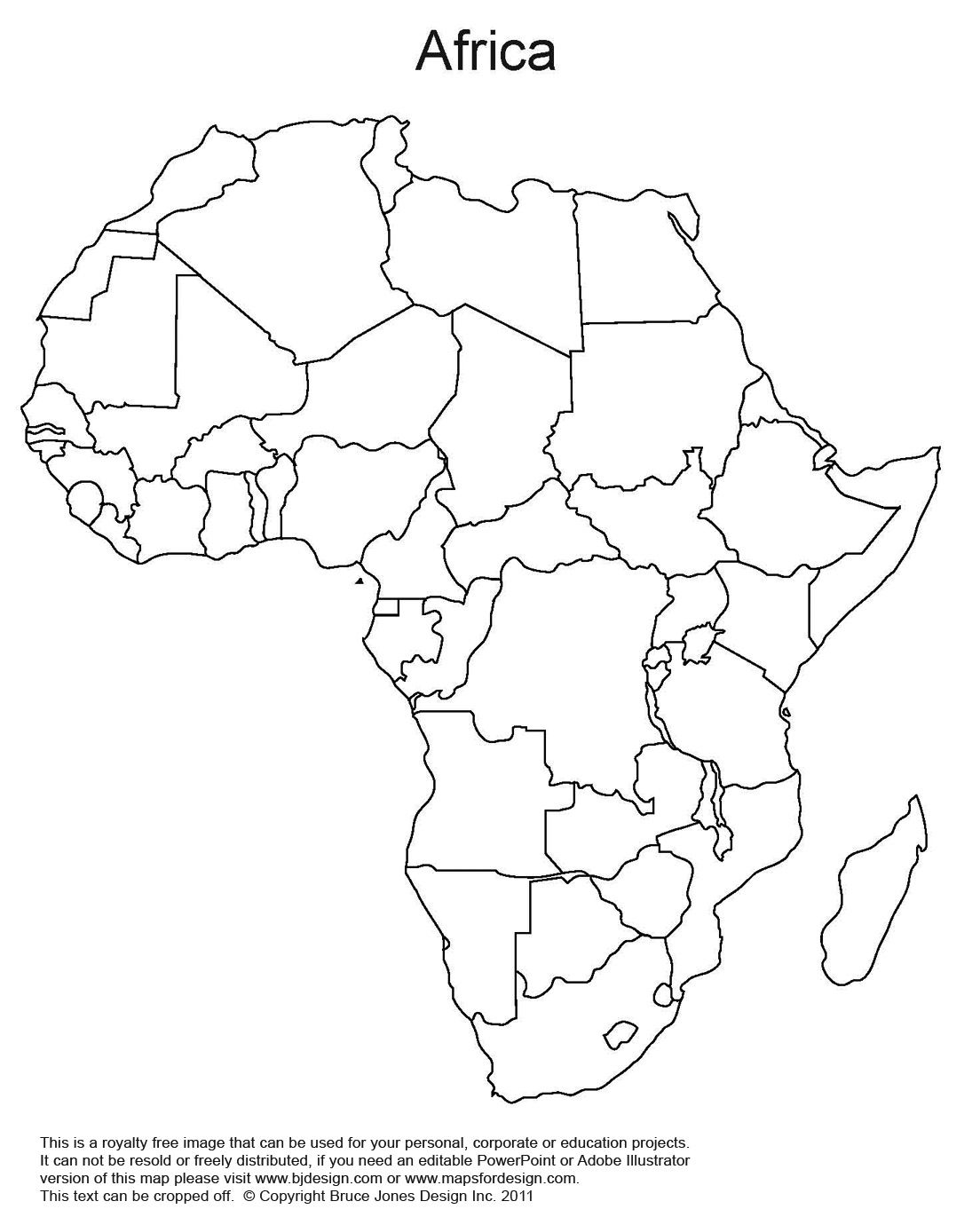 Map Of Africa Drawing at GetDrawings.com | Free for personal use Map ...