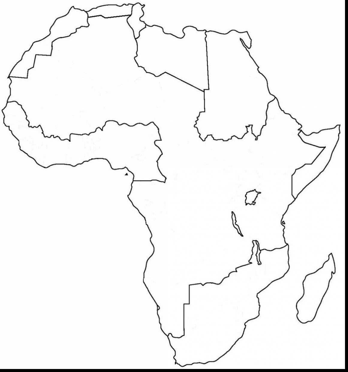 1161x1240 Africa Coloring Pages