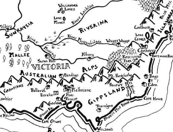 570x435 Fantasy Map Of Australia