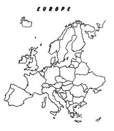 Map Of Europe Drawing at GetDrawings.com | Free for personal ...