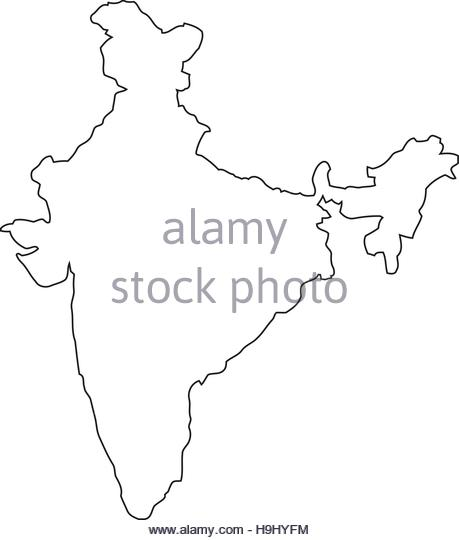 459x540 India Map Cut Out Stock Images Amp Pictures