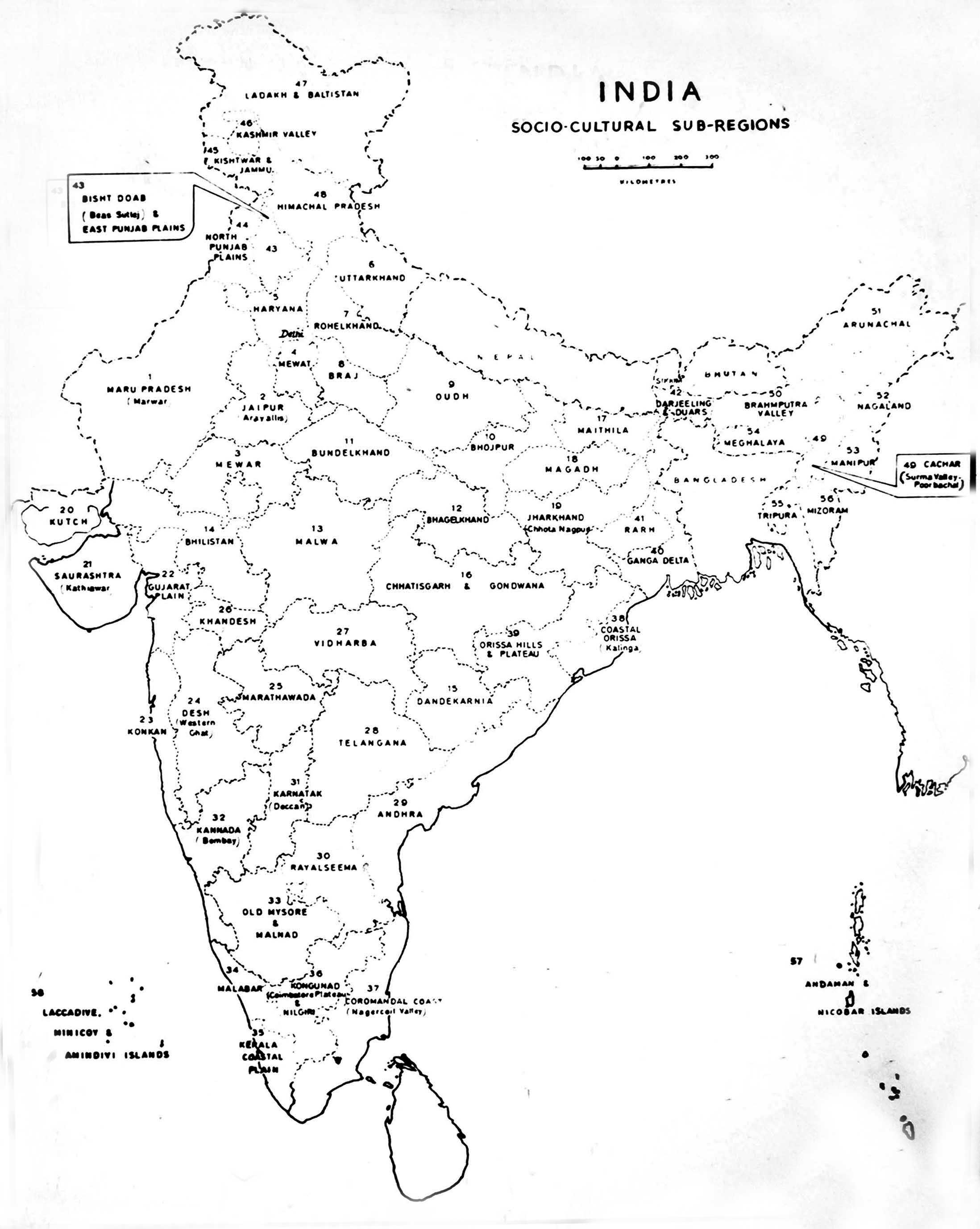Map Of India Drawing At Getdrawings Com Free For