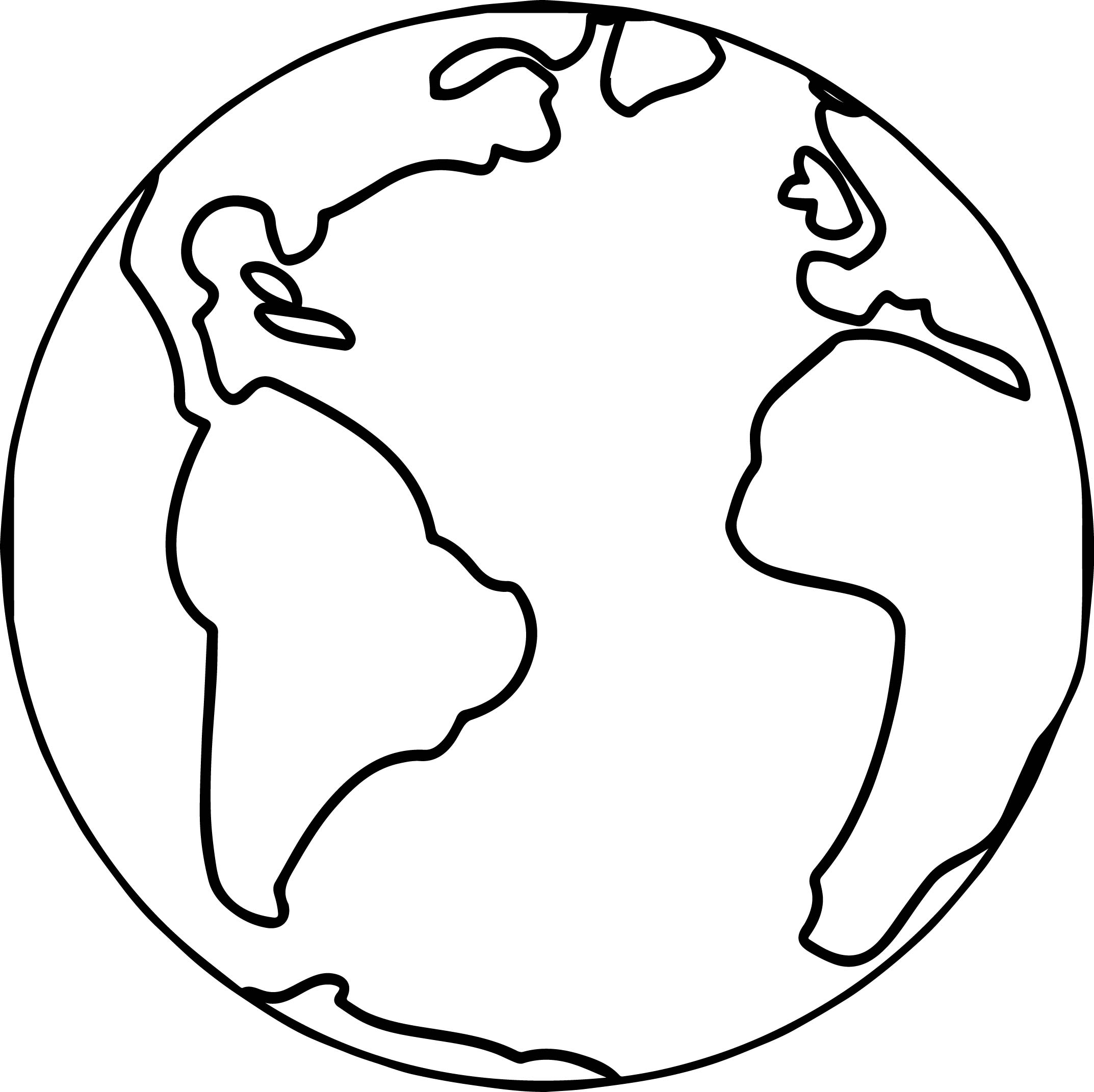2146x2142 World Coloring Pages Printable To Beatiful Draw Map Of Page