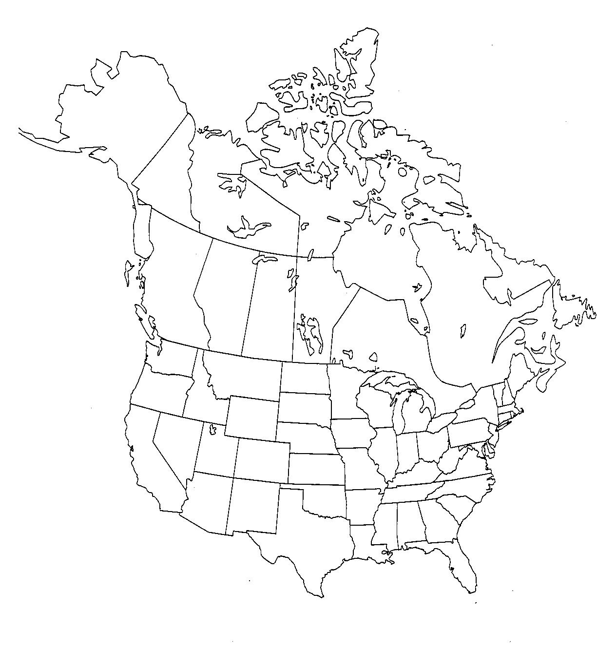 1264x1328 Interactive Map Of The Us And Canada