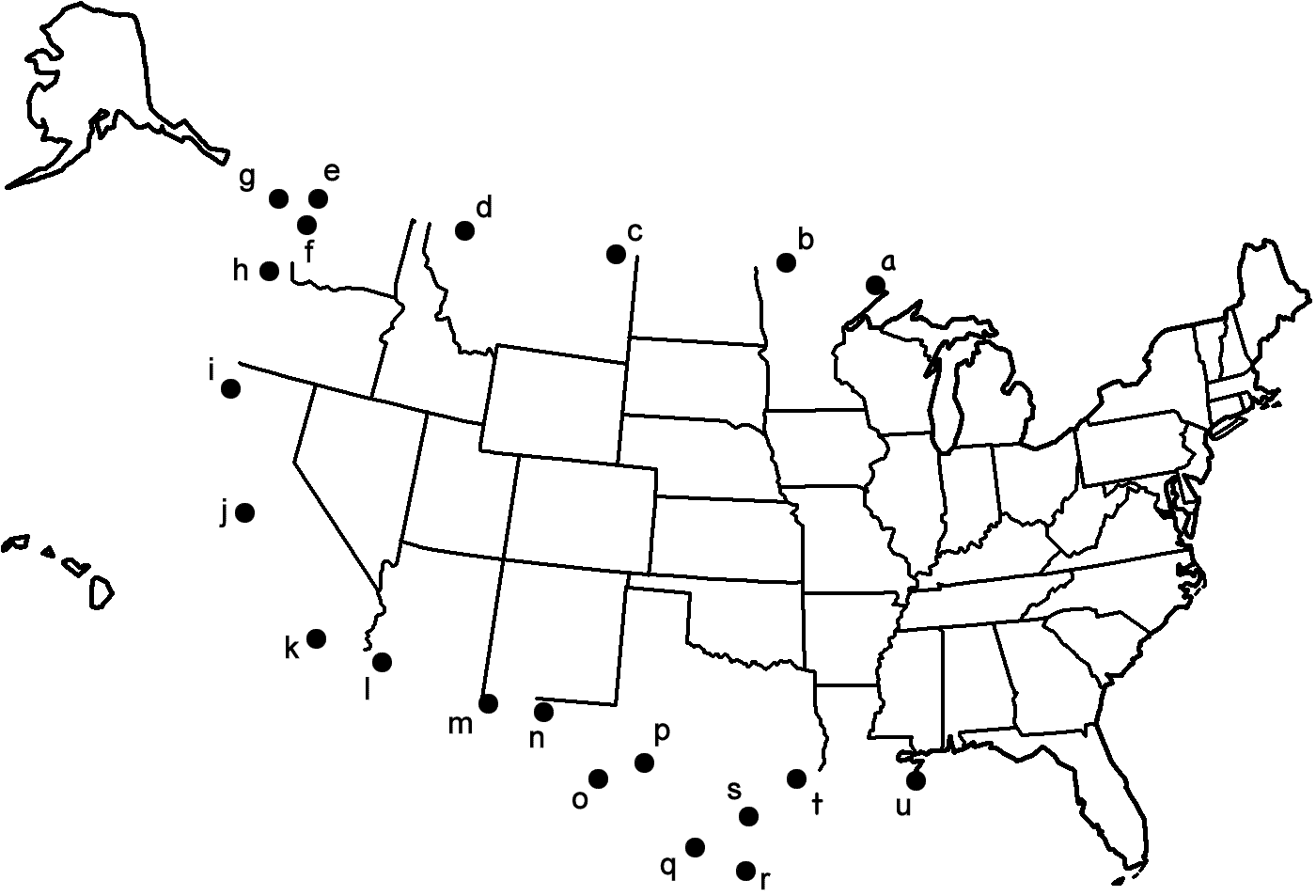 1400x953 Map Of The United States