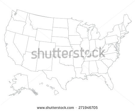 450x370 Sketch Drawing Us Map Online 9 Photos Of Outline Drawing Of United