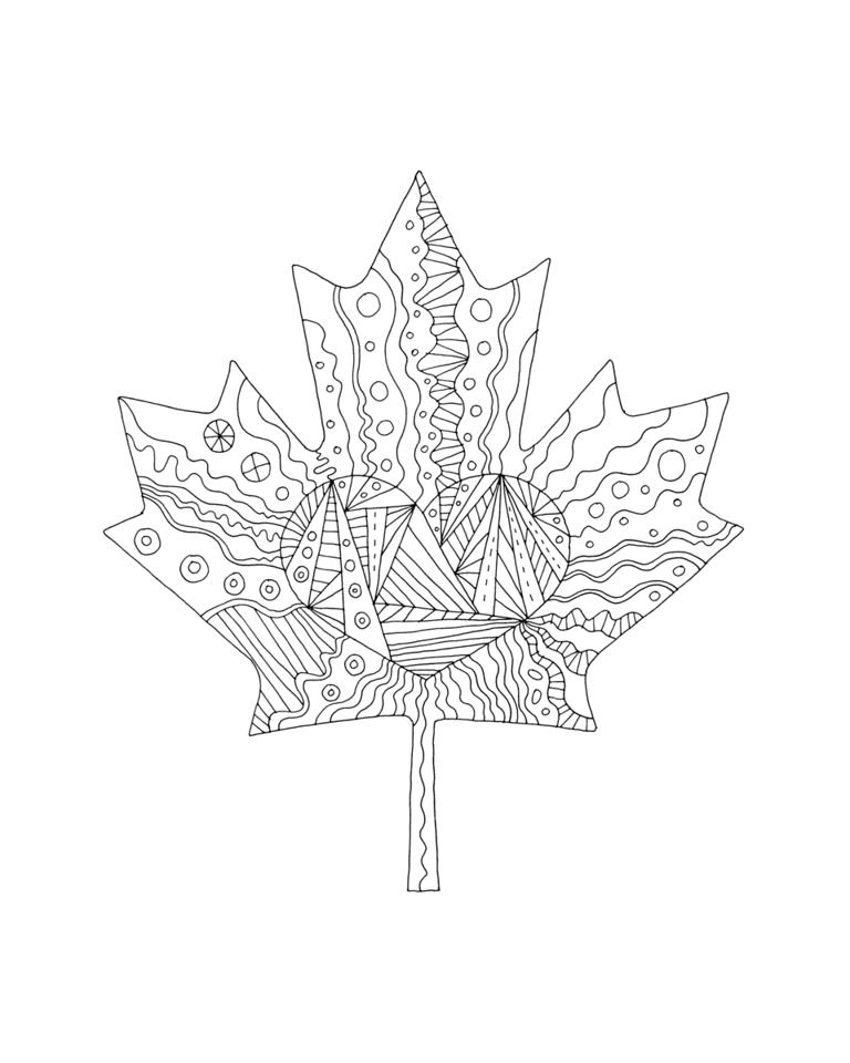 768x960 Inner Maple Leaves