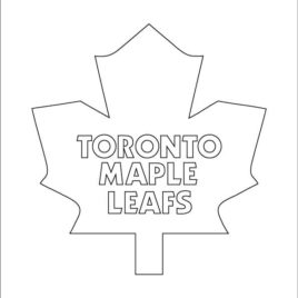 268x268 Coloring Page Maple Leaf Kids Drawing And Pages Marisa