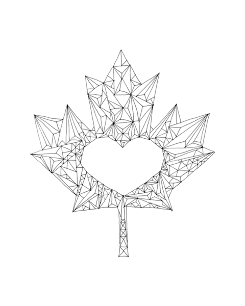 480x600 Inner Maple Leaves