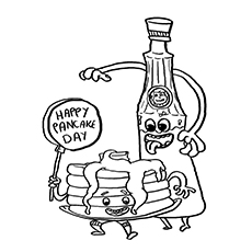 Maple Syrup Drawing