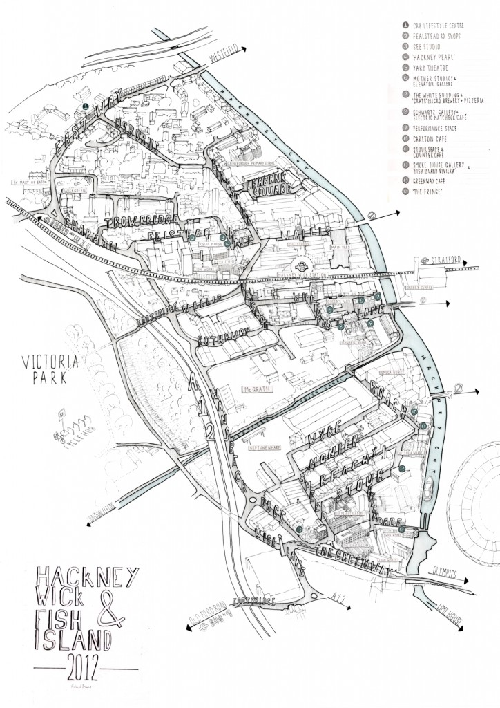 724x1024 Drawing The Wick Illustrations And Maps Of Hackney Wick And Fish