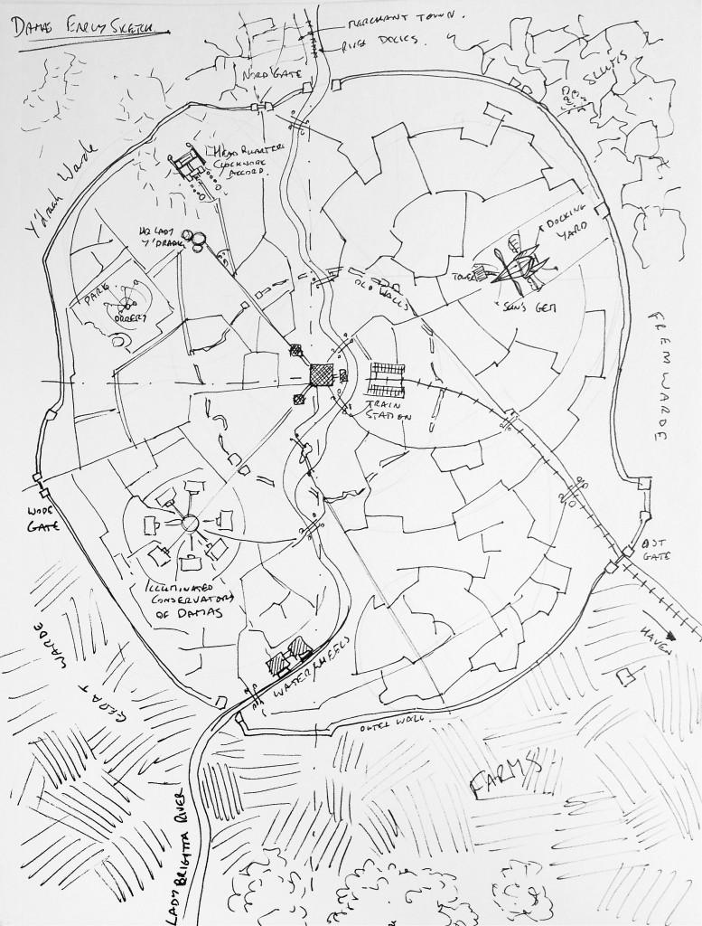 777x1024 City Design Walkthrough Fantasy Map, City Maps And Sketches