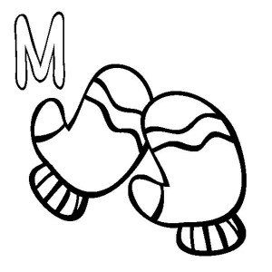 300x300 Letter M Is For Marbles Coloring Page Letter M Is For Marbles