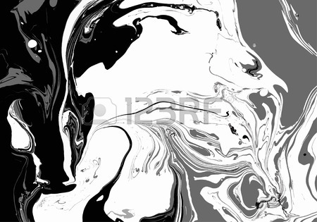 450x315 Abstract Background. Ink. Paint. Marble Style. Black And White